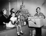 Filling Christmas 'basket