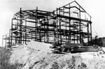 2 El Capitan - Steel frame during construction, 1913