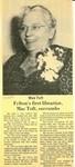 Felton's First Librarian, Mae Toft, Succumbs