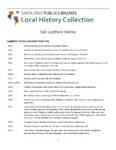Salz Leathers History