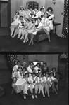 Group photo of waitresses, views 1-2