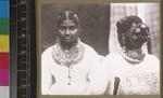 Tamil women wearing jewellery, Sri Lanka, s.d