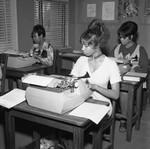 Women at Typewriters, Los Angeles, 1972
