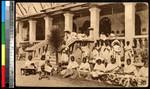 Women and children making lace, Bangladesh, ca.1920-1940