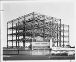 West Wilshire Medical Center steel frame, 1930 Wilshire Blvd., Los Angeles, 1959