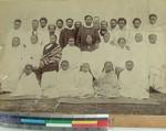 Congregation and pastors, Betafo, Madagascar, ca.1892