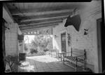 Carrillo, Leo, residence. Exterior veranda