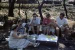 Norwegian missionaries on picnic, Cameroon, 1953-1968