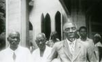 Gabonese pastors, in Lambarene, Gabon