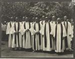 11 African pastors, Tanzania, 1936