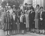 Ebell Club members, group photo