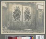 Decorated gates, Ashiho, Manchuria, 1910