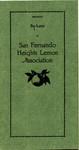 By-Laws of San Fernando Heights Lemon Association [revised], 1937