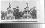 Statue of Guatemotzin, last and noblest of Aztec Emperors, Paseo de la Reforma, Mexico City
