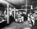 Weddington Bros. store interior. Undated