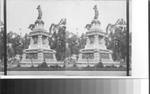 Statue of Guatemotzin, last and noblest of Aztec Emperors, Paseo de la Reforma, Mexico City, Mex