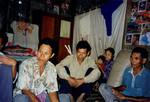 Scener og mennesker fra landsbyen Preah S'Dach. Udviklingskomite i landsby, Scenes and people from the village, Preah S'Dach. Development Comittee in a village