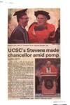 UCSC's Stevens made chancellor amid pomp