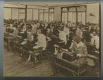Woodbury Students Using Typewriters, circa 1920s