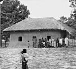Bangladesh Lutheran Church/BLC. The Birnakundi Church (Ujirpur), 1980, Bangladesh Lutherske Kirke/BLC. Birnakundi Kirke (Ujirpur), 1980