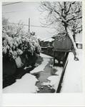 Korean village in winter