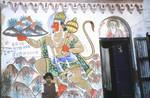 Hanuman mural