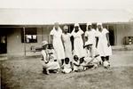 Some of A.A nurses & babies, Nigeria, ca. 1935