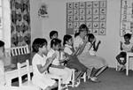 Birgit Kongsted Jensen på Al Raja Skolen. Børnene lærer begrebet