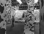 Michael Heizer's corrugated cardboard sculpture