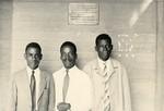 Three gabonese pastors, in Gabon