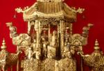 Altar wall piece,