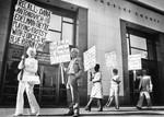 Demonstrating against supervisors