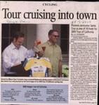 Tour cruising into town