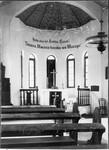 Inside of the chapel in Tanga, Tanzania, ca.1901-1910