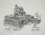 Print of Jack London's Wolf House, 2400 London Ranch Road, Glen Ellen, California, March 18, 1984