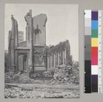 Earthquake ruins