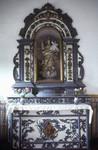 Carved altar