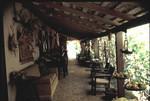 Verdugo Adobe veranda, circa 1975