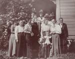 Ladies Aid meeting, 1900