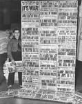Boy's war newspapers