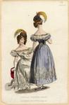 Evening gowns, Summer 1829
