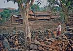 United Mission to Nepal. DSM/UMN Missionary and Teacher Tove Madsen at Namjung, Gorhka District, United Mission to Nepal. DSM/UMN missionær og lærer Tove Madsen i Namjung, Gorkha distrikt