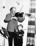 Vladimir Lenski accompanies pupil
