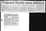 Proposed Harley store debated
