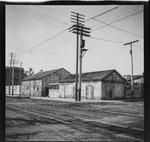 Buildings at corner of Alpine Street, Los Angeles