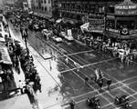 Armistice Day parade, overall view