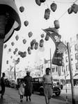 Paper lanterns in Little Tokyo