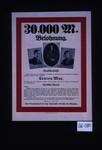 30,000 Mark Belohnung