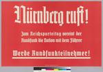 Nürnberg ruft!
