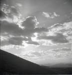 Cloud formation over landscape